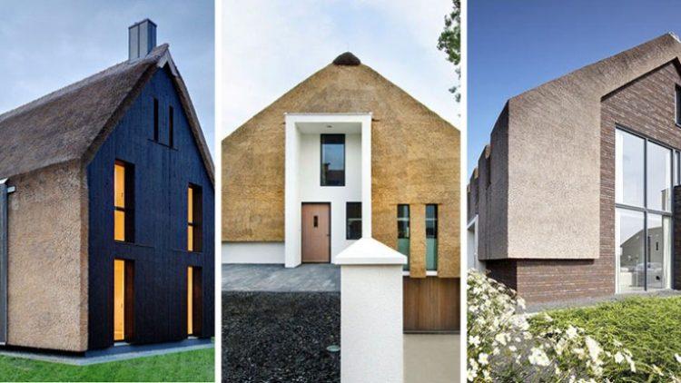 12 Primera savremenih kuća koje imaju tradiconalni krov od trske