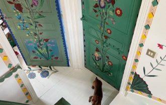 Francuska umetnica oslikala svoju kuću, za vreme trajanja karantina